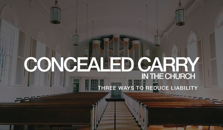 Concealed Carry in the Church